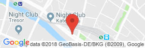 Position der Autogas-Tankstelle: TOTAL Station in 10243, Berlin