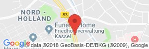 Position der Autogas-Tankstelle: Auto-Wellness-Center in 34127, Kassel