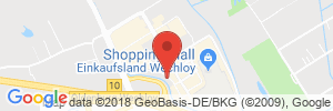 Position der Autogas-Tankstelle: Hoyer Tank Treff in 26129, Oldenburg