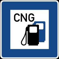 CNG / Erdgas verfügbar