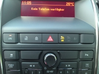 Opel Astra kompatibel mit Samsung Galaxy Note 2 via SAP